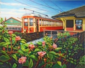 HM - Train & Wild Roses, Carla Maskall